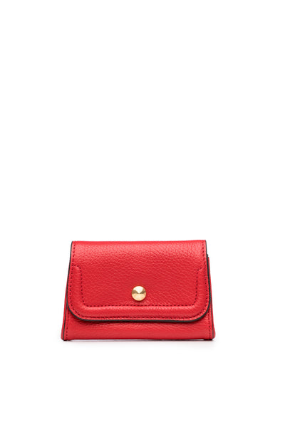 Mia Credit Card Holder Ruby