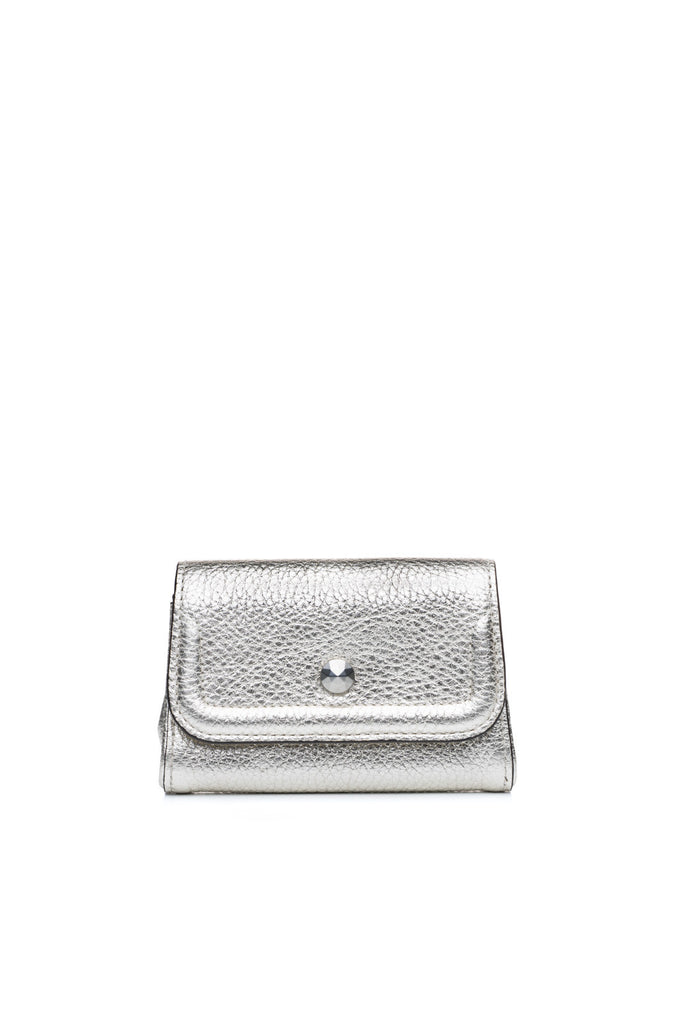 Mia Credit Card Holder Silver