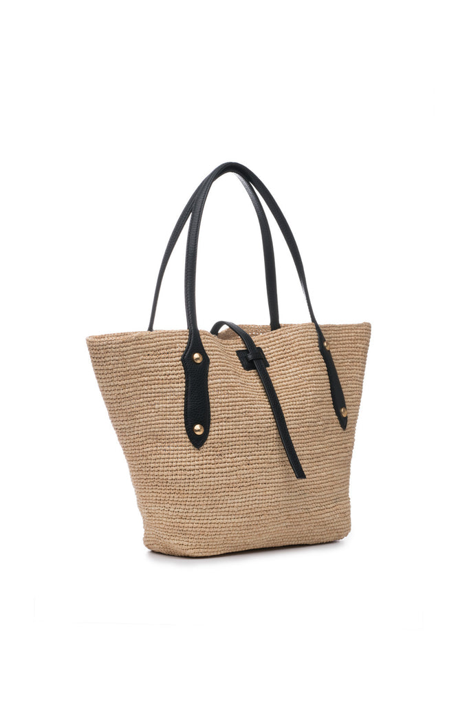 Small Sunny Bag Natural/Black