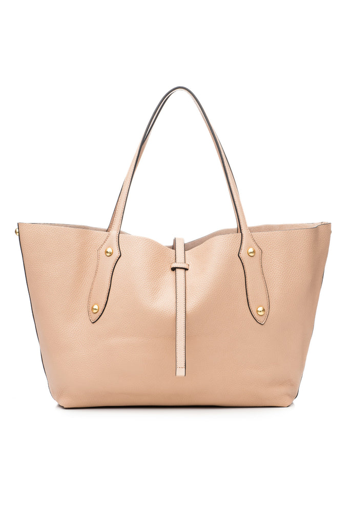 Small Isabella Tote Almond