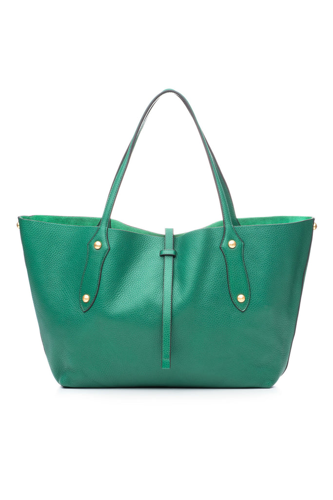 Small Isabella Tote Emerald