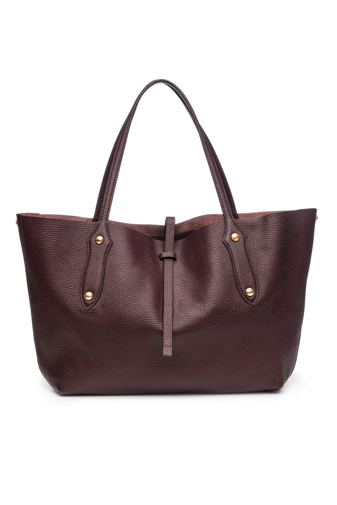 Small Isabella Tote Bordo