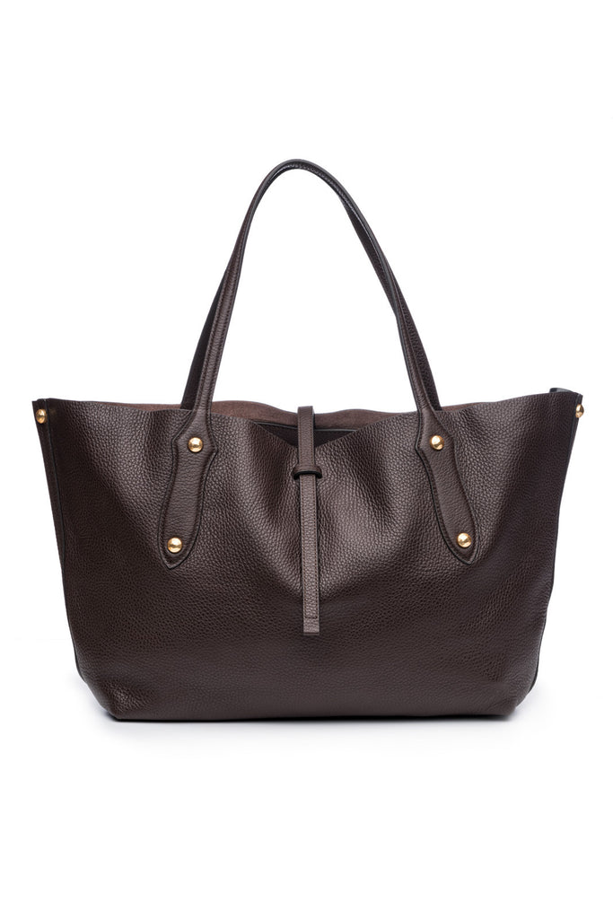 Small Isabella Tote Chocolate