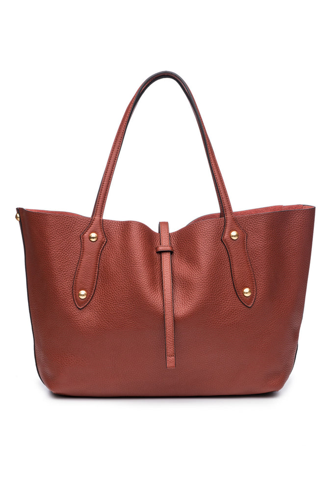 Small Isabella Tote Rust