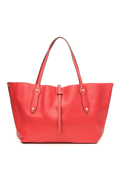 Small Isabella Tote Scarlet