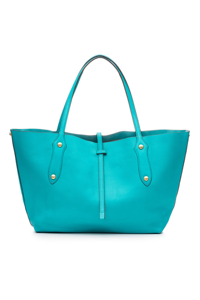 Small Isabella Tote Turquoise