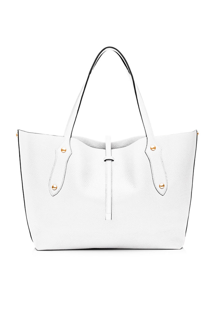 Small Isabella Tote White