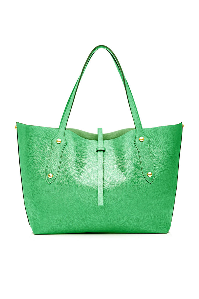 Small Isabella Tote Sea Green