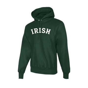 SHC Unisex Green Irish Logo Hooded Sweatshirt - PRE-ORDER