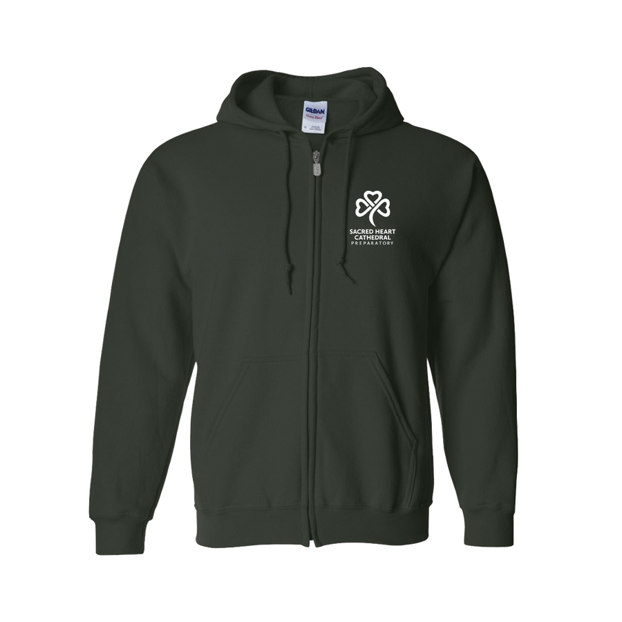 SHC Unisex Forest Green Hooded Sweatshirt - PRE-ORDER