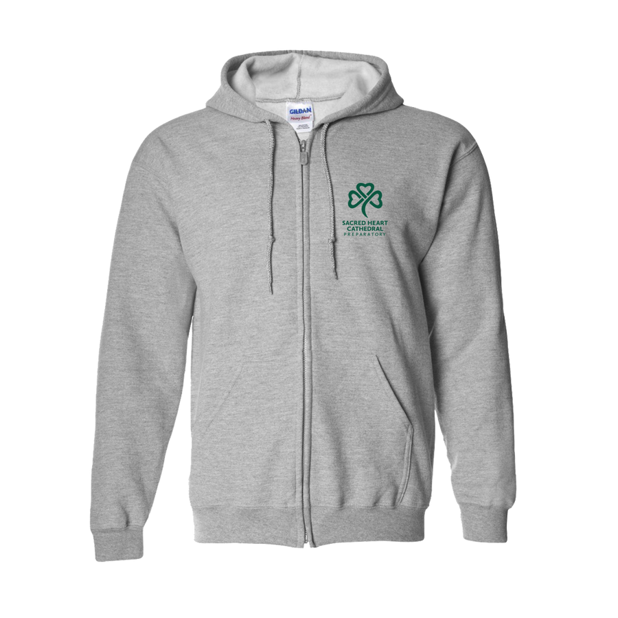 SHC Unisex Sports Grey Hooded Sweatshirt - PRE-ORDER