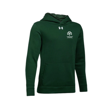 SHC Youth Cotton Green Hooded Sweatshirt - PRE-ORDER
