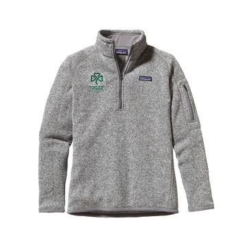 SHC Ladies' Birch White 1/4 Zip Fleece - PRE-ORDER