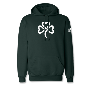 Big Shamrock Hooded Sweatshirt