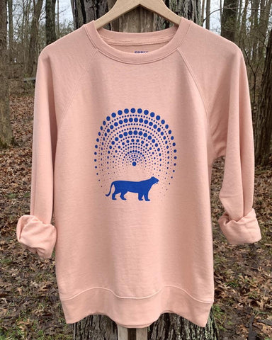 "SLT ~ ""WANDER THE UNIVERSE"" Blush French Terry Sweatshirt"