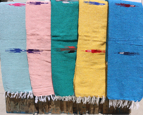 Authentic Mexican Blanket ~ Thunderbird
