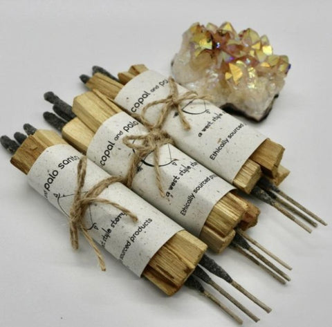 Copal + Palo Santo Pack of 10 bundles
