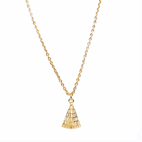 INDAH ~ The MAJESTICAL PYRAMID Necklace