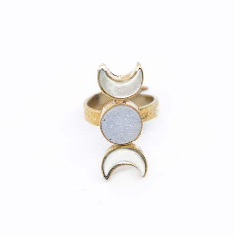 INDAH ~ The Goddess Ring