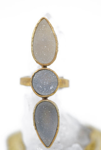 INDAH ~ The EOS Druzy Ring