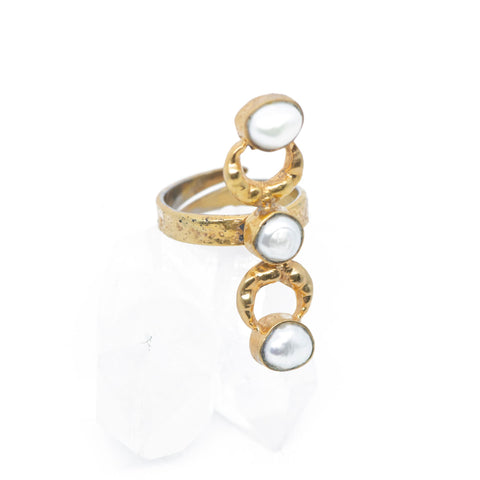 INDAH ~ The DIVINE Goddess Ring