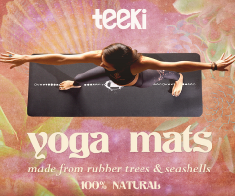 teeki yoga mat - crystal design