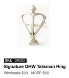 OHW Signature Talisman Ring