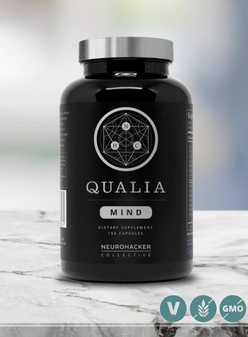NEUROHACKER - 6 pack of Qualia Mind - 105 Count