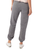 SLT ~ Dark Grey Sweatpants with Hamsa