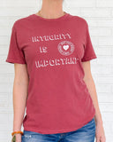 "SLT ~ ""INTEGRITY IS IMPORTANT"" Red Clay Cotton Unisex Crew"