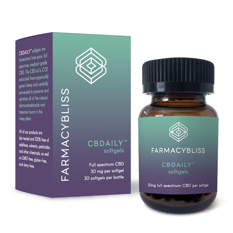 FARMACY BLISS ~ CBD Softgels - 900mg