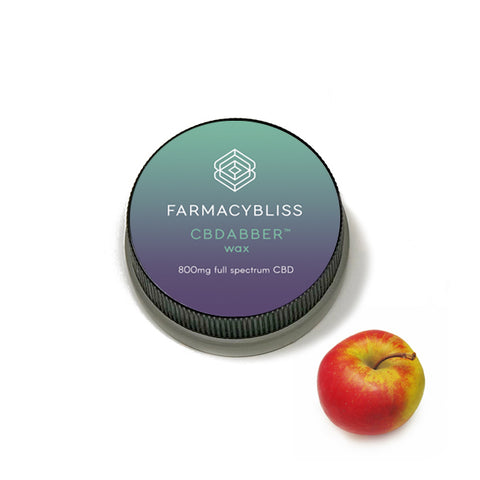 FARMACY BLISS ~ CBD Wax - 800mg Apple Flavor
