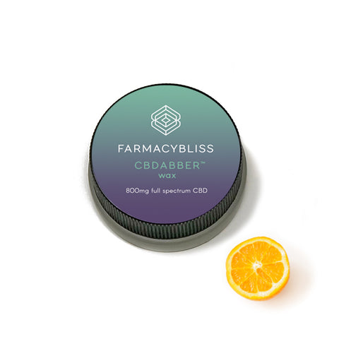 FARMACY BLISS ~ CBD Wax - 800mg Sweet Tangerine Flavor