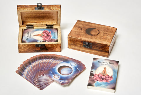 THE MOON DECK - WOODEN BOX SET - 10 deck minimum