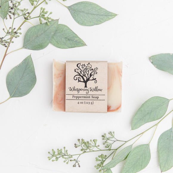 Peppermint Bar Soap-ONLY 2 LEFT!