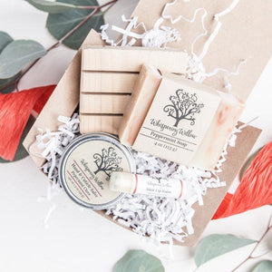 Peppermint Gift Box (Red Ribbon)