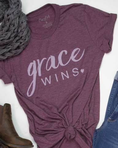 Grace Wins Tee - Limited Stock!