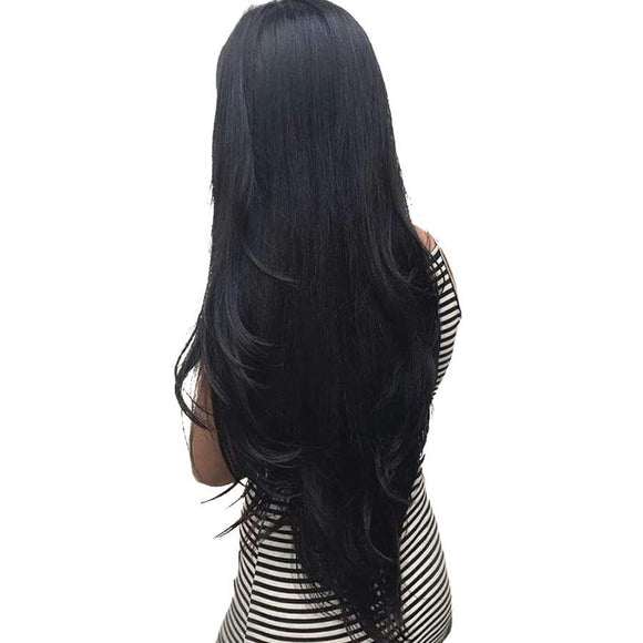 Malaysian Straight Hair  360 Lace Frontal Wig