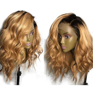 Brazilian Loose Deep wave Lace Front Human Hair Wigs with Baby Hair