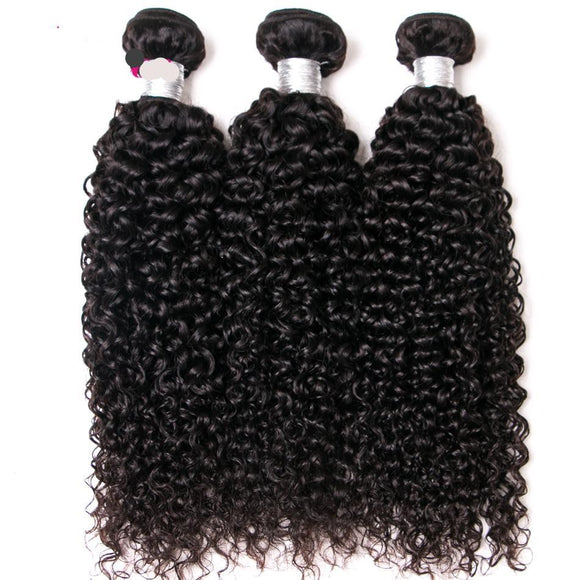 Malaysian Kinky Curly Hair With Closure