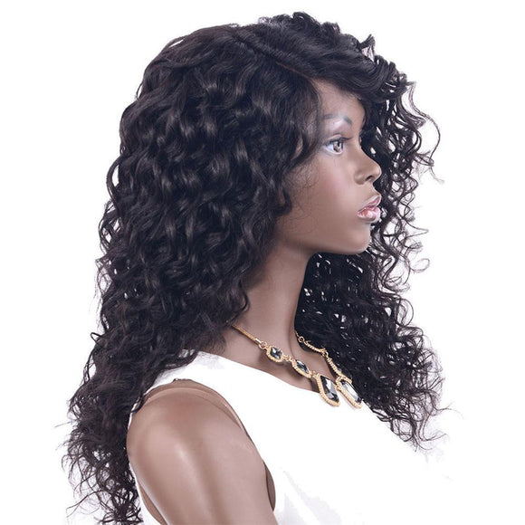 L Part curly Lace Front  Wig