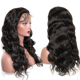 Brazilian Body Wave 360 Lace Frontal Wig Pre Plucked With Baby Hair