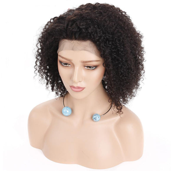 Mongolian Afro Kinky Curly 360 Lace Frontal Wig