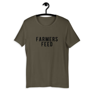 T-Shirt Short-Sleeve Unisex Farmers Feed