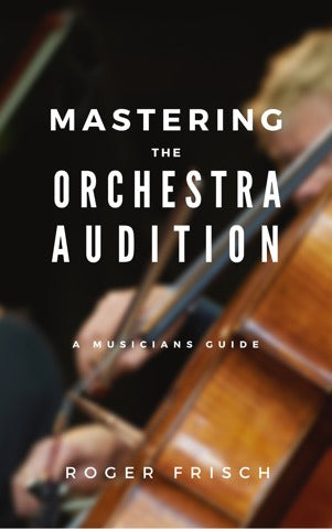Orchestra Audition Preparation Book