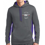 Fan Gear Hoodie (Grey/Purple)