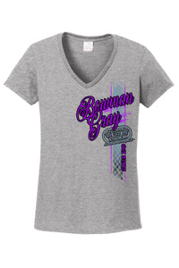 """Since 1949"" Ladies' V-Neck Tee"
