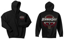 "Load image into Gallery viewer, Ring of Fire ""Bowman Gray Stadium"" Hoodie"
