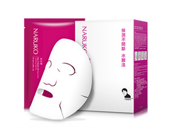 Naruko Rose & Botanic HA Aqua Cubic Hydrating Mask (10pcs) - oo35mm