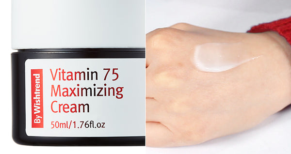 By Wishtrend Vitamin 75 Maximizing Cream (EXP 2020-11) - oo35mm